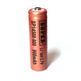 Supex 14500 3.7V 900mAh Li-ion industrijska punjiva baterija