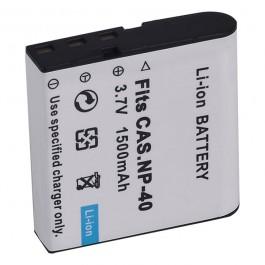 Baterija za Casio NP-40 3.7V 1250mAh Li-ion