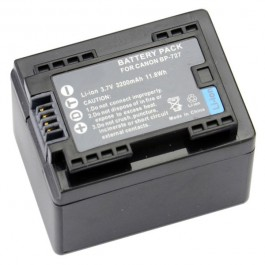 Baterija za Canon BP-727 3.6V 2680mAh Li-ion