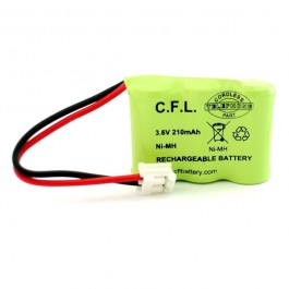 CFL 3x1/2AAA 3.6V 210mAh Ni-MH punjiva baterija