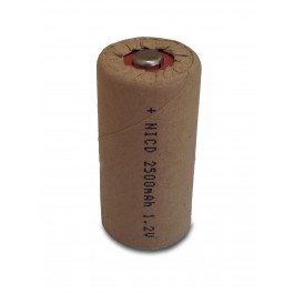 High-Star C 1.2V 2500mAh Ni-Cd industrijska punjiva baterija