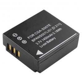 Baterija za Panasonic CGA-S007/007E 3.7V 1000mAh Li-ion baterija