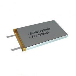 EEMB LP603450 3.7V 1000mAh 3,7Wh Li-Polymer industrijska punjiva baterija