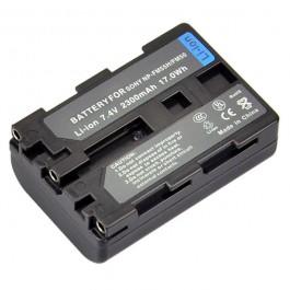 Digital Sony NP-FM55/NP-FM50 7.2V 1500mAh Li-ion bate.