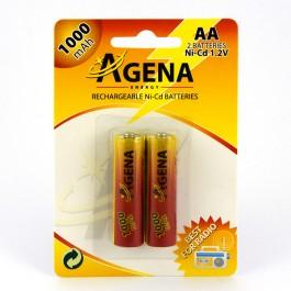 Agena Energy AA 2/1 1.2V 1000mAh Ni-Cd punjiva baterija