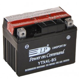 Landport YTX4L-BS D+ 12V 3Ah AGM starterski akumulator za motocikl