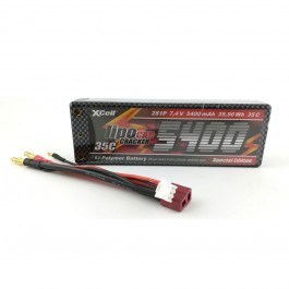 XCell Cracker 7.4V 5400mAh Li-ion polymer industrijska punjiva baterija