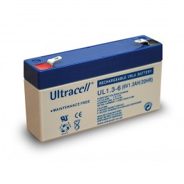 Ultracell UL1.3-6 6V 1.3Ah SLA stacionarni akumulator
