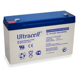 Ultracell UL10-6 6V 10Ah SLA stacionarni akumulator