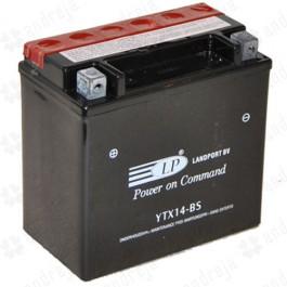 Landport YTX14-BS L+ 12V 12Ah AGM starterski akumulator za motocikl