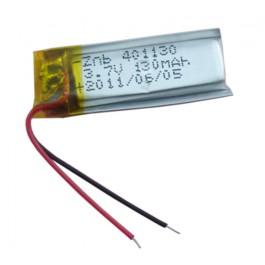 Baterija 3.7V 130mAh 401130 Li-ion polymer