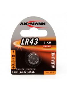 Ansmann LR43/386/186/AG12 1.5V alkalna baterija