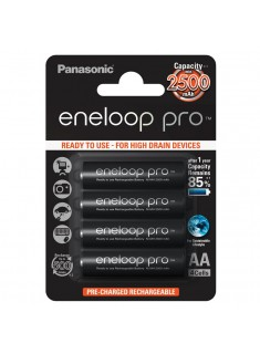 Panasonic eneloop Pro  AA 1/4 1.2V 2500mAh Ni-MH BK-3HCCE/4BE punjiva baterija