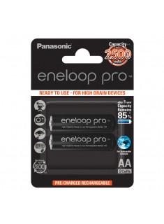 Panasonic eneloop Pro AA 1/2 1.2V 2500mAh Ni-MH BK-3HCDE/2BE punjiva baterija