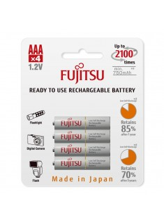 Fujitsu AAA HR-4UTCEU (4B) 1.2V 750mAh Ni-MH punjiva baterija