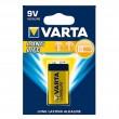 Varta Longlife 6LR61 9V alkalna baterija