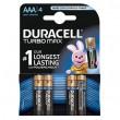 Duracell TURBO 1/4 LR03 1.5V alkalna baterija