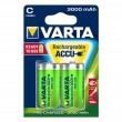 Varta C Power 1/2 1.2V 3000mAh Ni-MH Ready2Use punjiva baterija