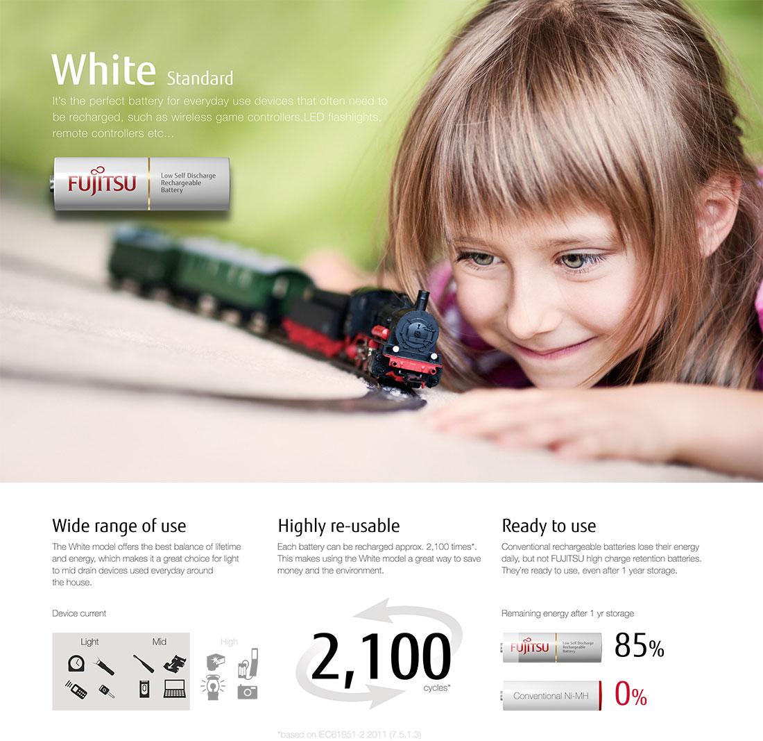 Fujitsu White Banner