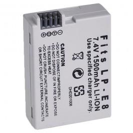 Baterija za Canon LP-E8 7.4V 1120mAh Li-ion