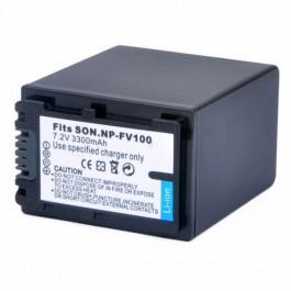 Kamera NP-FV100 7.4V 3900mAh Li-Ion punjiva baterija