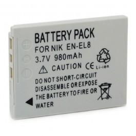 Baterija za Nikon EN-EL8 3.7V 730mAh Li-ion
