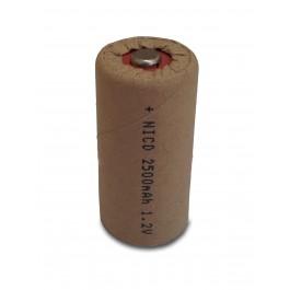 High-Star C 1.2V 2500mAh Ni-Cd industrijska punjiva baterija