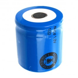 PKCELL 1/2D 1.2V 2500mAh Ni-Cd flat industrijska punjiva baterija