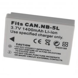 Kamera NB-5L 3.7V 1120mAh Li-Ion punjiva baterija