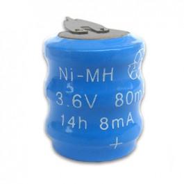 Baterija 3/V 2P 3.6V 80mAh Ni-MH punjiva