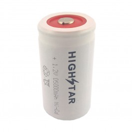 High-Star D 1.2V 5000mAh Ni-Cd FT industrijska punjiva baterija