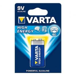 Varta Longlife Power 6LR61 9V alkalna baterija