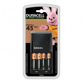 Duracell CEF27 punjač baterija sa 2 AA 1300mAh i 2 AAA 750mAh punjive baterije