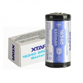 XTAR 16340-PCB 3.7V 650mAh Li-ion punjiva baterija sa ugrađenom zaštitom