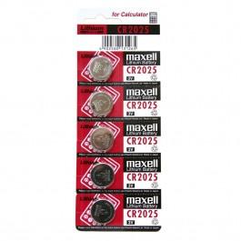 Maxell CR2025 1/5 3V litijumska baterija