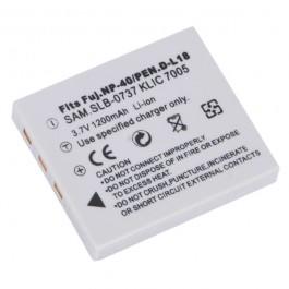 Baterija za Fuji NP-40/Pentax D-L18 3.7V 780mAh Li-ion