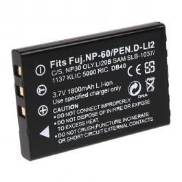 Baterija za NP-60F/S1137/1037/Li20B 3.7V 1150mAh Li-ion