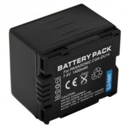 Baterija za Panasonic CGA-DU14 7.2V 1400mAh Li-ion punji