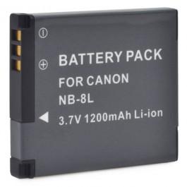 Baterija za Canon NB-8L 3.6V 740mAh Li-ion