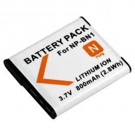 Baterija za Sony NP-BN1 3.6V 630mAh Li-ion