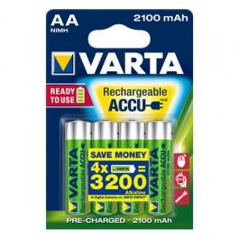 Varta AA 1/4 1.2V 2100mAh Ni-MH Ready2Use punjiva baterija