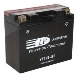 Landport YT12B-BS L+ 12V 10Ah AGM starterski akumulator za motocikl
