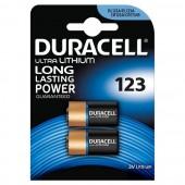 Duracell Ultra Photo CR123 3V litijumska baterija