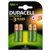 Duracell AAA 1/4 1.2V 750mAh Ni-MH Stay Charged punjiva baterija