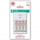 Fujitsu FCT345-CE punjač sa 4 HR-3UTCEU 1900mAh baterije