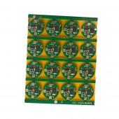 Elektronski sklop za upravljanje 1S PCB 3.6V (3-5A) za Li-Ion 14500 (zaobljeni)