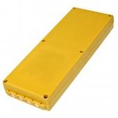 Prepakivanje baterija za daljinski upravljač krana HBC FuB 10 AA 12V 1000mAh Ni-Cd