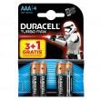 Duracell TURBO LR03 3+1 1.5V alkalna baterija