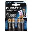 Duracell TURBO 1/4  LR6 1.5V alkalna baterija